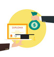 Bribery vector image vector image