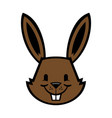 cartoon bunny rabbit graphic vector image vector image