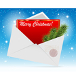 envelope card vector image