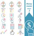 money master volume 2 vector image