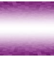 Purple Mosaic Tile Square Background Perspective vector image vector image