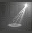Spotlight light effectlight beam isolated