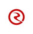 sun river logo vector image vector image