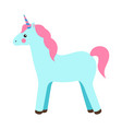 unicorn princess party poster vector image