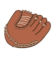 baseball mitt icon image vector image vector image