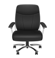 Black Chair vector image