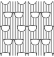 Pop sunglasses retro seamless pattern in grey and vector image