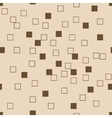 Sguare seamless pattern vector image vector image