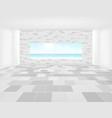 tile floor background vector image vector image