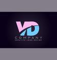 vd alphabet letter join joined letter logo design vector image