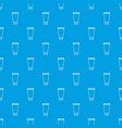creme tube pattern seamless blue vector image vector image