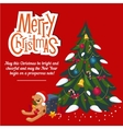 New Year 2016 christmas decoration Christmas vector image vector image