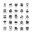 Real estate glyph icons 3