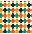 seamless abstract geometric rhombus pattern vector image