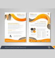 business brochure cover design vector image vector image