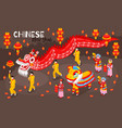 chinese new year colored background vector image vector image
