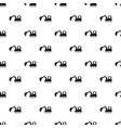excavator pattern seamless vector image vector image