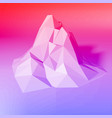 gradient abstract polygonal background vector image