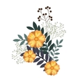 icon flower design vector image vector image