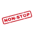Non-Stop Rubber Stamp vector image vector image