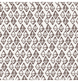 Seamless crystal pattern Gem linear ornament vector image