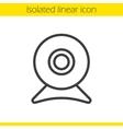 Webcam icon vector image vector image
