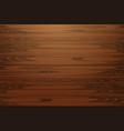 wood texture natural dark wooden vector image vector image