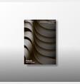 a4 minimal color design postcard flyer poster vector image vector image