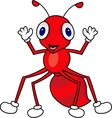 Ant cartoon vector image vector image