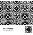 Black-white pattern 3 vector image vector image