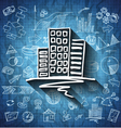 Blueprint business icon vector image