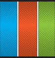 colored comic page vector image vector image