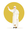 pope vector image