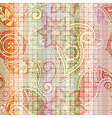 seamless tile paisley pattern vector image vector image