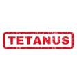 Tetanus Rubber Stamp vector image vector image