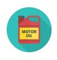 Motor oil icon vector image