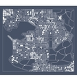 abstract city plan