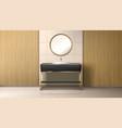 bathroom boiler water heater washbasin and tub vector image vector image