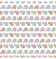 comforter seamless pattern background vector image vector image