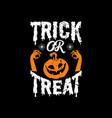 halloween typographic quotes design vector image