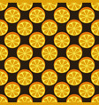 orange fruit seamless bright pattern vector image