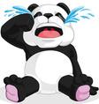 Panda Crying vector image