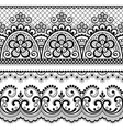 decorative vintage lace seamless pattern vector image vector image