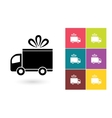 delivery icon or symbol vector image