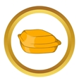 Food container icon vector image vector image