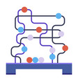logical or creative game the development vector image
