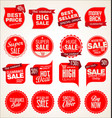 modern badges stickers and labels collection 3 vector image vector image