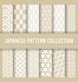 seamless pattern background japanese print vector image vector image