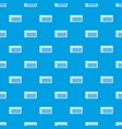 Electronic synth pattern seamless blue