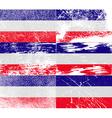 Flag of Los Altos with old texture vector image vector image